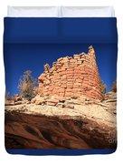 Ancient Pueblo Duvet Cover