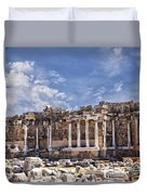 Ancient Ruins In Side Turkey Duvet Cover