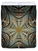 Ancient Shield Duvet Cover by Anastasiya Malakhova