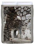 Ancient Side Byzantine Hospital Duvet Cover