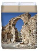 Ancient Side Entrance Gate Duvet Cover