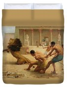 Ancient Sport Duvet Cover