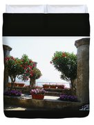 Ancient Town Of Ravello Italy Duvet Cover