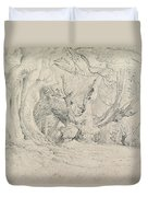 Ancient Trees Lullingstone Park Duvet Cover