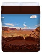 Ancient Viewpoint Duvet Cover