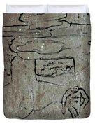 Ancient Wall Art Duvet Cover