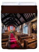 Ancient Welsh Church Duvet Cover by Adrian Evans