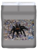 And Along Came A Little Spider .  Duvet Cover