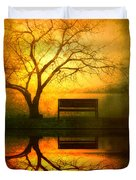 And I Will Wait For You Until The Sun Goes Down Duvet Cover