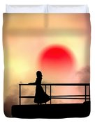And The Sun Also Rises Duvet Cover