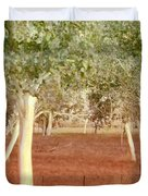 And The Trees Danced Duvet Cover