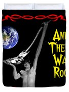 And There Was Rock #2 Duvet Cover by Ben Upham