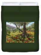 Andalucian Olive Grove Duvet Cover