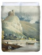 Andely, From Views On The Seine Duvet Cover