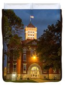 Anderson County Courthouse Duvet Cover