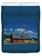 Andersons Dock Door County Wi Duvet Cover