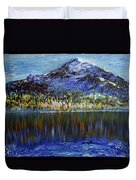 Andes Mountain Duvet Cover