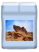 Andreas Canyon Duvet Cover