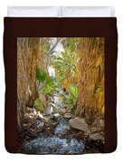 Andreas Creek In Andreas Canyon In Indian Canyons-ca Duvet Cover
