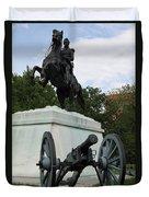 Andrew Jackson Memorial Duvet Cover