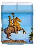 Andrew Jackson - Paint Duvet Cover
