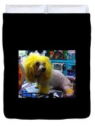 Andrew The Poodle Duvet Cover