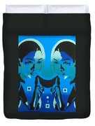 Android Twins Duvet Cover