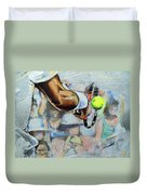 Andy Murray - Wimbledon 2013 Duvet Cover