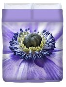 Anemone Close Up Duvet Cover