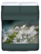 Anemone Flower Duvet Cover