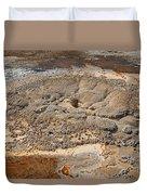 Anemone Geyser In Upper Geyser Basin Duvet Cover