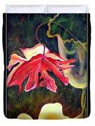 Anemone Me Duvet Cover by Jolanta Anna Karolska