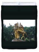 Angel And Tecumseh Sherman Duvet Cover