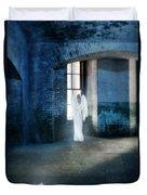 Angel At Window Duvet Cover