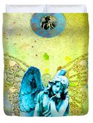 Angel Blessings 3 Duvet Cover