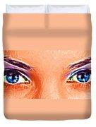 Angel Eyes Duvet Cover