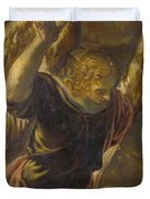 Angel From The Annunciation To The Virgin Duvet Cover