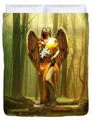 Angel Gabriel Duvet Cover