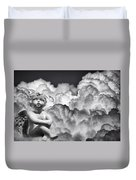 Angel In The Clouds Duvet Cover