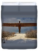 Angel In The Snow II Duvet Cover