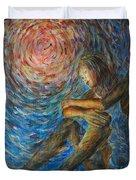 Angel Moon I Duvet Cover