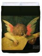 Angel Musician Duvet Cover