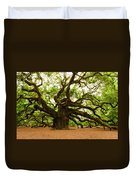 Angel Oak Tree 2009 Duvet Cover by Louis Dallara