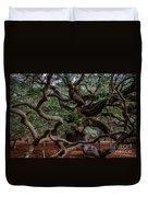Angel Oak Tree Treasure Duvet Cover