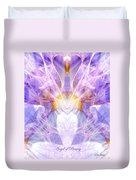 Angel Of Beauty Duvet Cover