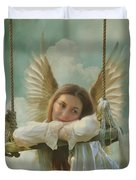 Angel Of Independence Duvet Cover