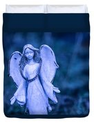 Angel Of The Rain Duvet Cover