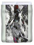 Angel Of Winter Duvet Cover