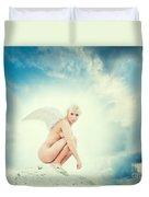 Angel Duvet Cover by Stelios Kleanthous