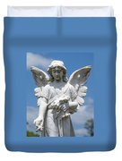 Angel Tombstone Series Duvet Cover